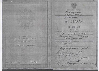 Гулюмян Нелли Володьевна